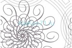 Абстракция «узоры» (подсолнухи)